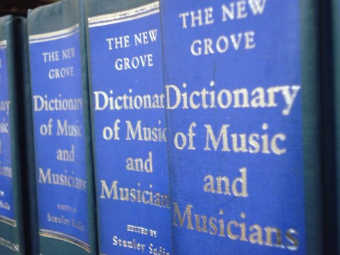 New Grove Dictionary of Music